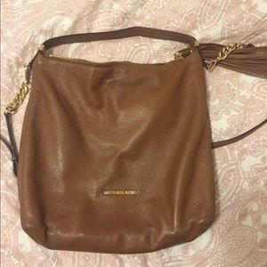 Leather bag Michael Kors